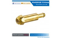 brass parts copper pipe flare fitting tube connector brass barb hose fitting brass compression pipe fitting