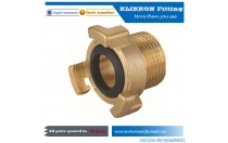 PC fitting pneumatic fitting brass straight thread pipe joint quick connect fitting