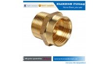 Male Female parker brass fittings for water system/ gas system/ oil system /media