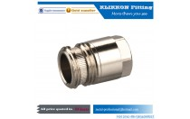 "KLIKKON 1/2"" 3/4"" 3/4"" 3/8"" Brass Compression Tube Fitting, Coupling, Flare x NPT Female copper pipe nipple fitting ​​"