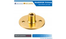 Free threaded Forged brass flange barb hydraulic hose fittings