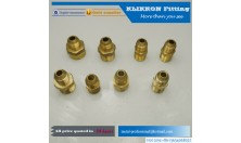 Brass Hexagon Full Nuts Knurl Round Insert Nuts Hexagon Domed Cap