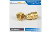 Convsion Free Sample npt brass female union thread fitting