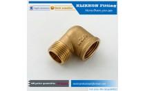 China OEM Service Male Female Brass Fitting Supplier 90 Degree Elbow for Water Tube Manufacturer
