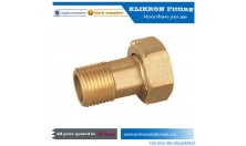 forged brass water meter fitting and Lead free material meter coupling
