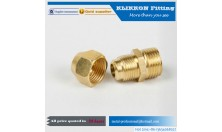 Male & Female Brass Conduit Fitting Flexible Connectors Adaptors