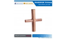 4 way copper pipe fitting