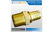 Male Thread Pipe Fitting x Barb Hose Tail Connector Adapter Stainless Steel brass NPT