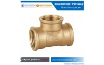 brass press fittings equal tee for plumbing Low MOQ