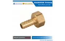 90 degree brass barb gas fitting Low MOQ