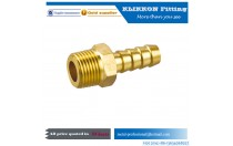 "THREADED CONNECTION WITH SLEEVE FOR RUBBER HOSE MALE,1/8 1/4"" 1/2"" hose barb to bsp npt MALE BRASS FITTING"