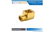 90 Degree Elbow Brass Pipe Brake Hose Air Brake Fitting