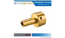 1/8 1/4 3/8 5/8 1/2 3/4 1'' 2''  inch NPT Threaded Brass Compression Coupling Pipe Fittings
