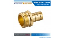 Brass Barstock Hose Barb fittings 90 degree male elbow