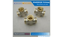 "1/8""1/4"" 3/8"" 1/2"" 1"" Brass Nipple pipe Fitting"