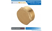 Brass Pipe Tube End Cap, Brass Fitting Supplier