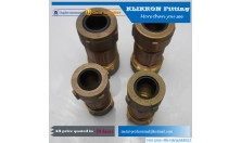 Hot sale brass fitting equal adapter for water system