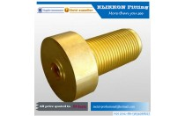 "Brass Pipe Fitting Reducer Adapter 1/4"" NPT Male x 1/2"" NPT Female Pipe"