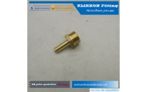"Elbow Brass Barb Fitting 3/16"" Hose x 1/8 NPT Fuel Boat"