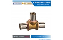 Three Way 1/8 Brass Connect Tee Plumbing Pipe Fitting Npt Female Thread Equal Tee