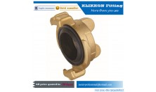 Brass Compression Reducing Fittings Male Straight Coupling