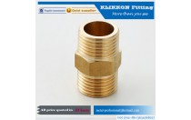 "Brass Pipe Fitting 3/8 "" Male NPT Thread Plug Hex Head"