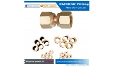 Low MOQ small piece brass screw pipe fitting