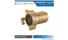 Lead free brass hose fitting pipe tee with sleeve three way PEX