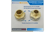 3/16 Brass Equal Tube Coupling compression union fitting