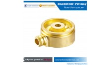 cnc brass pipe fitting Elbow Brass Barb Fitting 3/4 Hose Air Connector Coupler