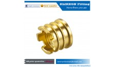 china brass 45 flare fittings Elbow Brass Compression sanitary pipe fitting