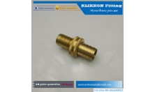 brass pipe fittings factory screw connector 1/2 pneumatic brass fitting
