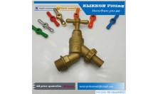 China Tube Brass Fitting Supplier L Shape Elbow Female Push Fit/Plug in Fitting