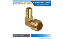 Wholesale Brass CNC Machining Service Water Pipe Plastic Push-in Fitting Pneumatic Brass Fitting