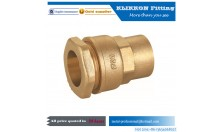 china brass tube fittings supplier threaded brass pipe/brass tube