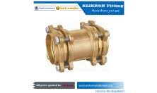 oem cnc sanitary parts steel brass pipe fitting 1/4 nipple connector NPT