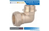 automotive brass fittings 1/2 pipe fittings brass elbow with female thread