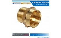 Low MOQ 1/2 Male NPT To GHT Male Thread BrassNipple Fittings