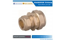 Low MOQ Factory customized cnc brass fitting for plumbing