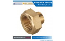 Copper Pipe Fitting 6mm 8mm 10mm 12mm Brass Hose Barbed Tail Coupler  JIC Brass Straight Flared Tube Fitting
