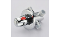 Brass temperature controlled water sensor temperature mixing valve