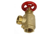 UL Listed DN65 Brass Indoor Fire Hydrant Valve For Fire Fight