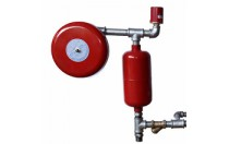 one Aluminum controlled dividing breeching fire hydrant