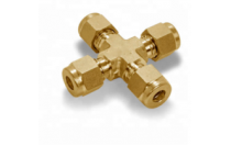 high quality brass cross pex pipe fitting