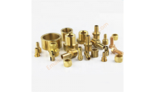 brass hose barb connection brass cross fitting